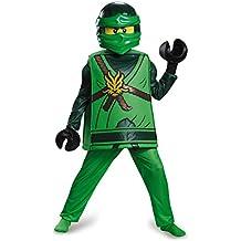 Lloyd Deluxe Ninjago Lego Costume, Medium/7-8