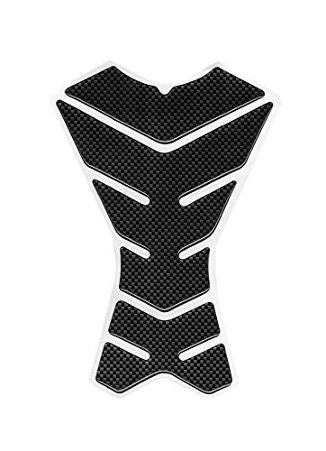 Motorcycle Racing Sports Carbon Fiber Skeleton Logo Gas Protector Tank Pad Decal Sticker Accessories Black For 2008 2009 2010 2011 2012 KAWASAKI NINJA 250R