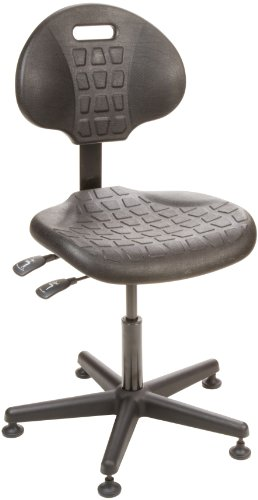 Bevco 7001 Ergonomic Deluxe Chair, Tilt Back Adjustment, Reinforced Plastic Base, 15