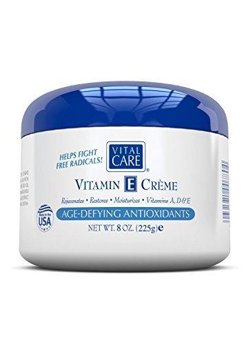 - Vital Care Vitamin E Creme Age Defying Antioxidants 8 Oz. (2 Pack)