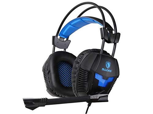 PS4 Gaming Headset, SADES SA921 3.5mm Jack Over Ear Stereo G