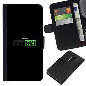 All Phone Most Case / Oferta Especial Cáscara Funda de cuero Monedero Cubierta de proteccion Caso / Wallet Case for LG G2 D800 // I am On