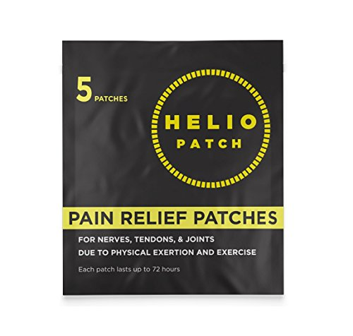 Heliopatch - Pain Remedy Patch (5 ct.) - Electron Donation Patch Relieves Sciatica, Tendonitis, Arthritis, Bursitis and Other Itis's by Heliopatch
