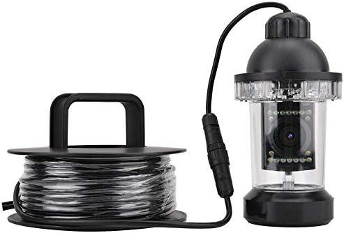 Tosuny Drone sous-Marin, caméra de pêche sous-Marine à rancran Couleur de 7 Pouces avec caméra Haute définition 200 mm x 90 mm, caméra de pêche HD CCD 1000TVL Lines, caméra vidéo DVR sous-Marine (EU)