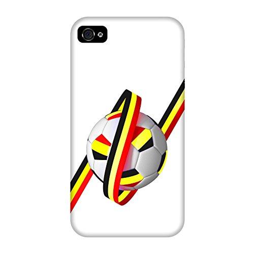 Coque Iphone 4-4s - Supporter Football Belgique
