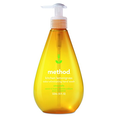 Method 01025CT Kitchen Hand Wash, Lemongrass, 18 oz Pump Bot