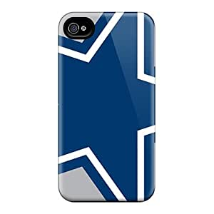 Shock-Absorbing Cell-phone Hard Cover For Iphone 6 With Allow Personal Design Vivid Dallas Cowboys Pattern AlissaDubois
