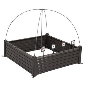 Curver Serra Raised Garden Bed Marrone 1 spesavip