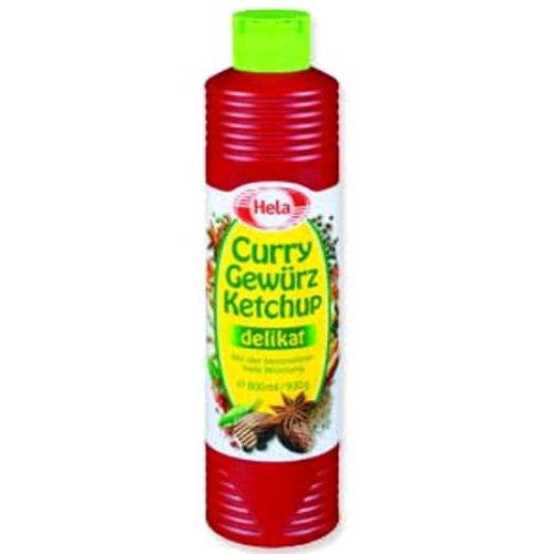 Hela Curry Gewurz Mild Ketchup -Pack of 2 X 300 mililiter / Ea.