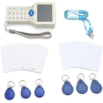 Amazon.com: Lector de tarjetas NFC RFID de 10 frecuencias en ...