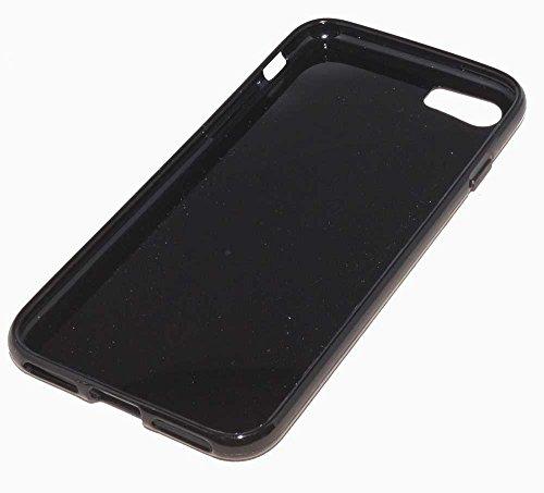 Dark Case Handy Tasche für Apple iPhone 7 Schutzhülle Hülle Etui black