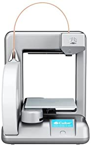 Cubify Cube 3D Printer 2nd Generation SILVER by Cubify
