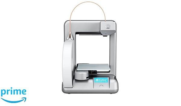 Cubify 381000 Cube 3D 2ª generación - Impresora 3D (WiFi, Plug ...