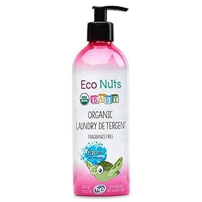 Eco Nuts Organic Baby Liquid Laundry Detergent, 16 fl oz