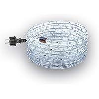 GEV 10802, led-lichtslang 6 m koud wit met 13 mm diameter