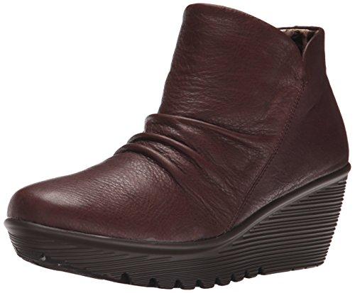 Skechers Women's Parallel-Universe Boot, Chocolate, 7 M US