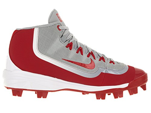 Nike Huarache 2kfilth Heren Pro Honkbalknuppel Wolf Grijs / Wit / Universiteit Rood