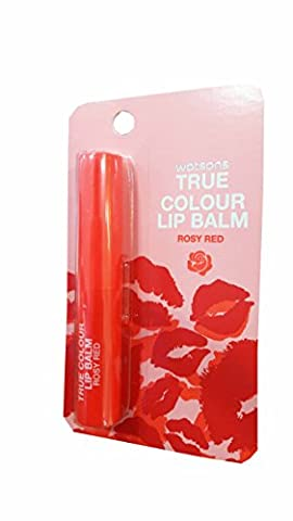 2 packs of Watsons True Colour Lip Balm Rosy Red. It is essential for a nude make-up. Be a glamourous queen with True Colour. (1.7g./ - Tube Pumpkin Pepper