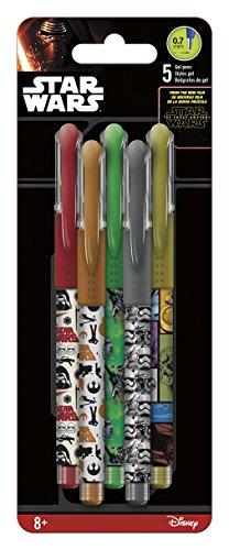 UPC 663542917580, Inkworks Star Wars The Force Awakens Colored Gel Pens (5 Pack)