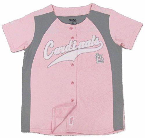 MLB St. Louis Cardinals Girl's Fashion Jersey