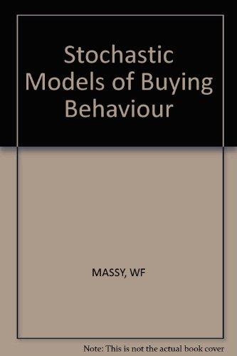 Stochastic Models of Buying Behavior