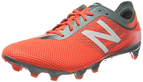 New Balance Men's Furon 2.0 Pro Fg Footbal Shoes, Red (Neonrot/Weiß/Grau Neonrot/Weiß/Grau), 6.5 UK