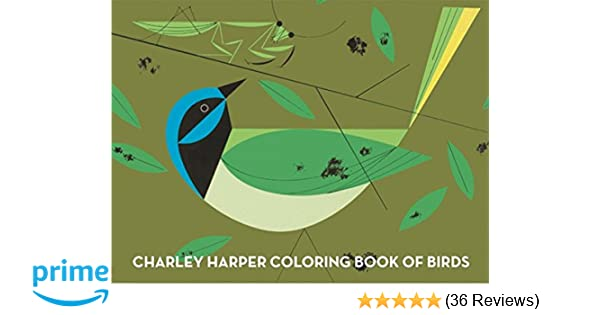 Charley Harper Coloring Book of Birds: Charley Harper ...