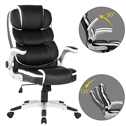 heavy duty computer chair with lumbar support