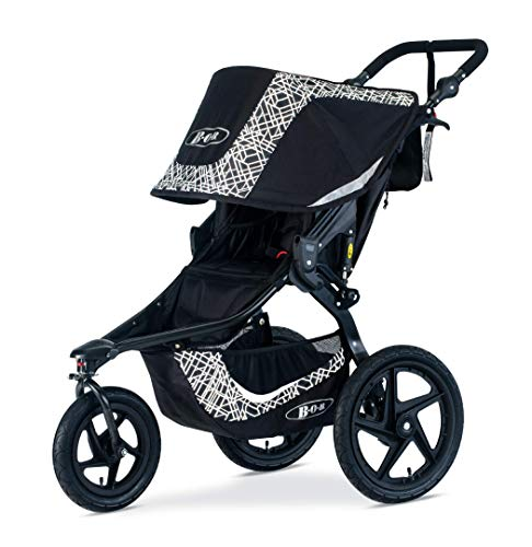 (BOB Revolution Flex 3.0 Jogging Stroller, Lunar Black)