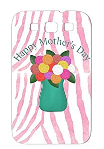 Baby Family Vase Worlds Best Flowers Gifts For Mom Mothers Day Gift Gift Floral Happy Navy TPU Case Sumsang Galaxy S3