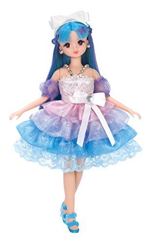 chan Gradient curl dress Aqua dress set Rika Stars TdwO6W1qwx