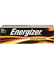 Energizer Industrial LR20, 1.5V, AAA batteries,  pack of 12 D size