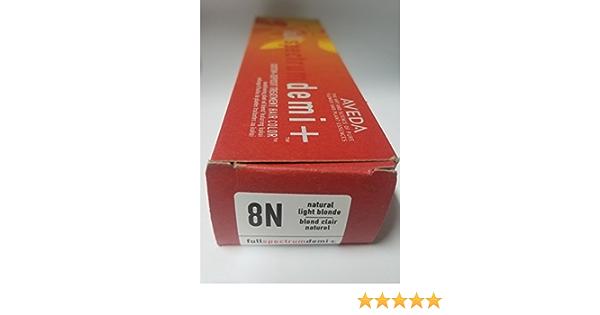 Aveda Full Spectrum Demi Plus Natural Light Blonde 8N: Amazon ...