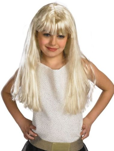 Hannah Montana Blonde Child Wig -