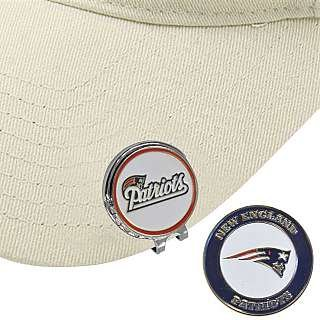 Hat Clip with Ball Marker NEW ENGLAND PATRIOTS by Extreme Golf