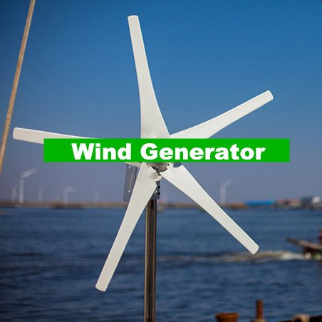 Gowe klein Wind Turbine; 12/24 V Option Wind Generator