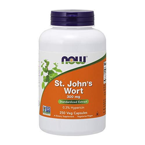 NOW Supplements, St. John's Wort 300 mg, 250 Veg Capsules