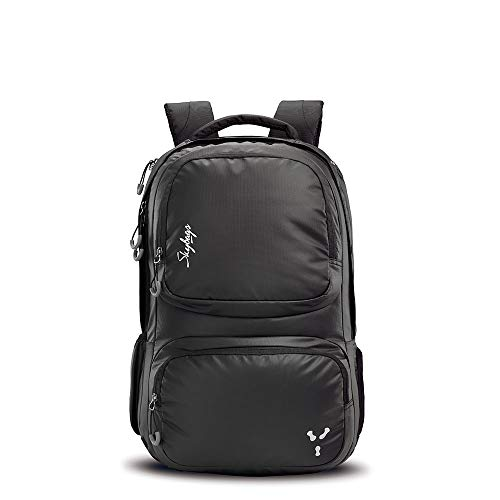Skybags Nickel 31 Ltrs Black Laptop Backpack with Raincover