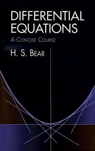 Differential Equations: A Concise Course (Dover Books on Mathematics)