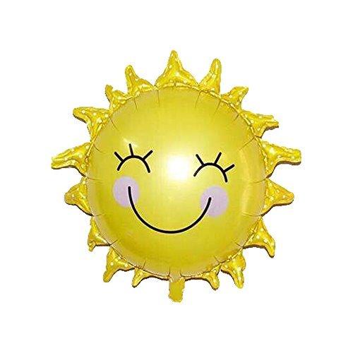 Smiley-face Sun Balloon, 26