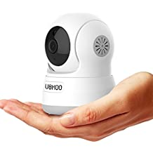 Wireless IP Camera, UOKOO 720P HD Home WiFi Wireless Security Surveillance Camera with Motion Detection Pan/Tilt...
