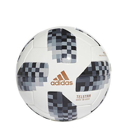 adidas FIFA World Cup Mini Ball White/Black/Silver Metallic, 1