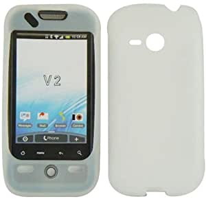 Transparent Clear Soft Silicone Gel Skin Cover Case for HTC Droid Eris 6200