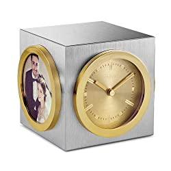 Citizen Workplace silver-tone and gold-tone cube CC1019