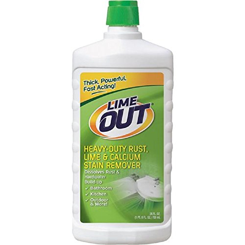 Lime Stain Removal - Lime OUT Heavy-Duty Rust, Lime & Calcium Stain Remover, 24 Fl. Oz. Bottle