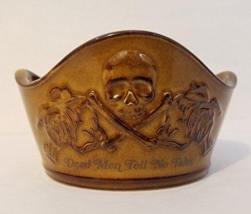 Disney Parks Pirates of The Caribbean Ceramic Appetizer Bowl