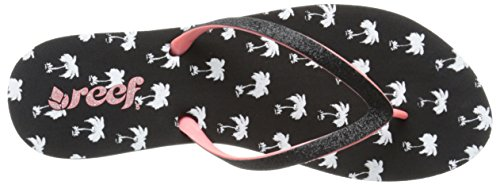 Reef Womens Stargazer Prints Sandal Black Palms UyJhxcKdjX