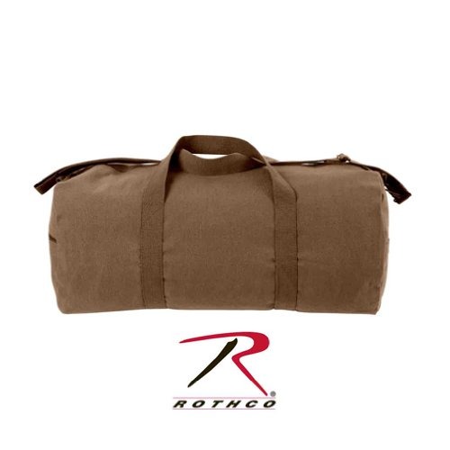 Rothco Canvas Shoulder Bag, Earth Brown, 24''