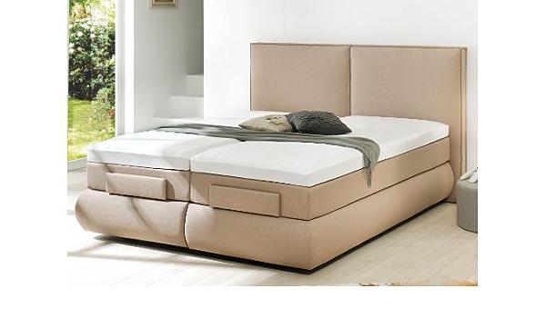 Estilo Cama de cama de cama tapizada camas con somier Bristol ...