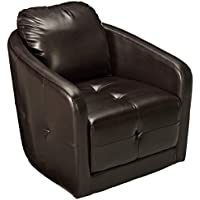 Christopher Knight Home 295179 Concordia Swivel Chair, Brown
